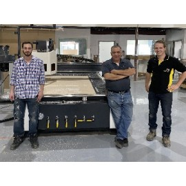 Wood and plastic working company just acquired a Rapid 8R 510